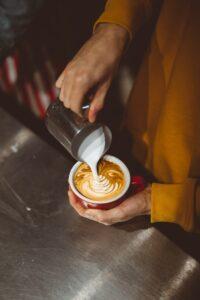 poured espresso
